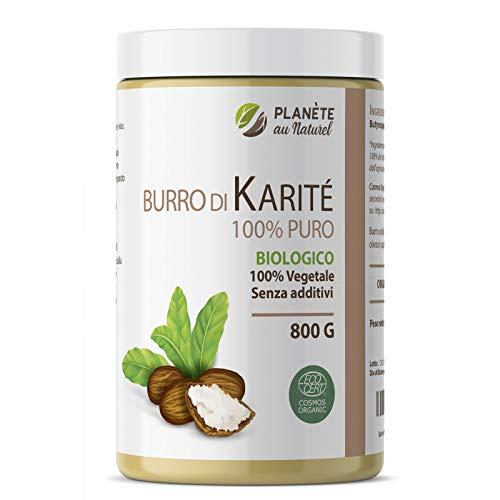 Burro di Karité Biologico 800g - 100% Puro - Non raffinato