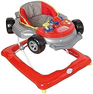 Andador para bebé, diseño fórmula 1 gris. Andador de