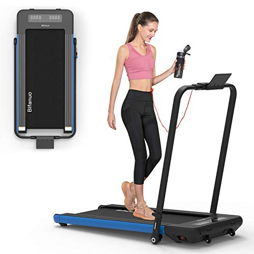 BiFanuo 2 in 1 Folding Treadmill, Smart Walking Running...