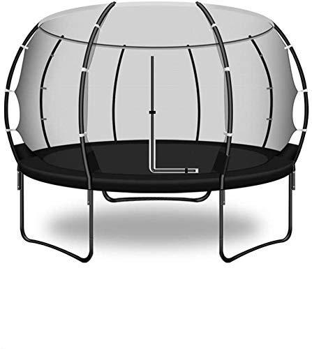 KaiKai El Columpio Trampolín (Negro) Adultos Red de protección Interior y Exterior trampolín Grande Trampolines de Interior