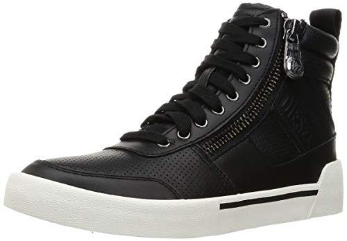 Diesel S-Dvelows Mid Cut - Zapatillas deportivas para hombre, color Negro, talla 46 EU