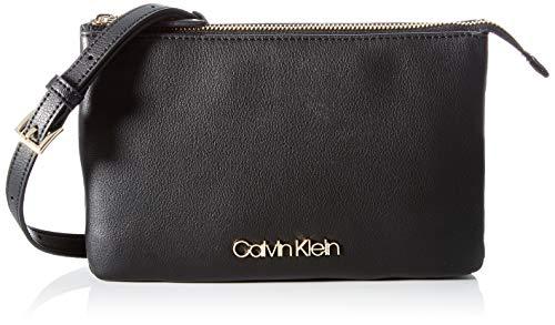 Calvin Klein Damen Crossovers, Schwarz, One Size