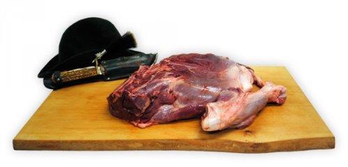 Wildschweinkeule mit Knochen Gewicht 3,25kg