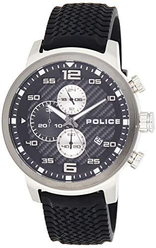 Police 15657JSTU-02P Reloj de Hombres
