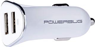 Powerbug PB3-2P-CCH Powerbug3 Smart Dual Port Fast Car Charger