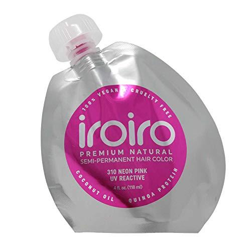 IROIRO 310 Neon Pink Premium Natural Semi Permanent Hair Color