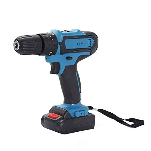 KAMELUN Cordless Screwdriver Drill Tool Kit Tool Set Drill Driver Power Tools Set with 32V Cordless Electric Screwdriver and Lithium-Ion Batteries for Home Garage Repair