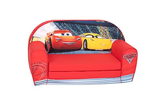 Disney Simba 6306711076 - Cars 3 - Sofa, Rot