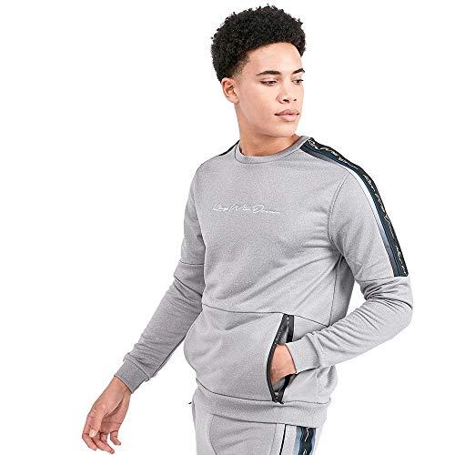Kings Will Dream Miller Otto Panel Sweatshirt | Grey LGE Grey SEA