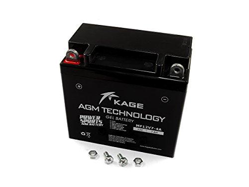 Batterie GEL KAGE YB7-A 12N7-4A 7AH für Generic Harley Davidson Keeway KSR-Moto Kymco SYM