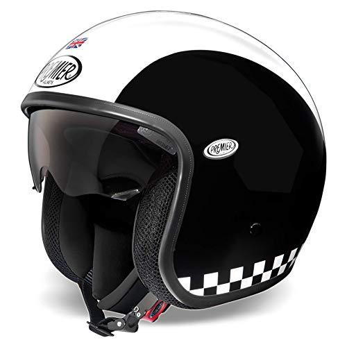 Helm Premier VINTAGE EVO RETRO' M Jethelm Motorrad Größe M