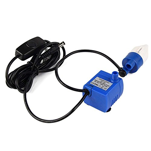 Submersible Electric Water Pump Low Power Consumption Motor Replacement Pump Compatible with 1.8L Automatic Electric Pet Water Fountain