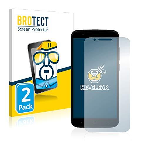 BROTECT Schutzfolie kompatibel mit Vernee Thor (2 Stück) klare Bildschirmschutz-Folie
