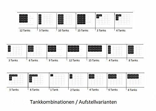 4500 Liter Rotex Öltank / Heizöltank 3 x 1500 L doppelwandig variosafe Komplettset VSF 153