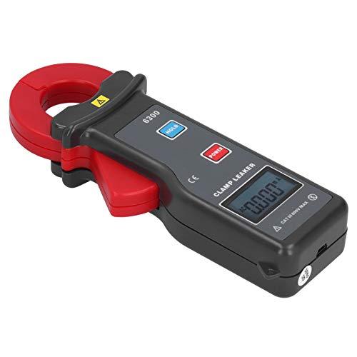Mothinessto Medidor de Corriente de Fuga Medidor de Corriente de Fuga Medidor de Pinza de múltiples probadores con Interfaz RS232 para la Industria