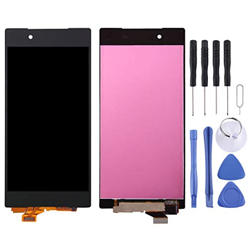 YANGJ LCD Screen Phone Spare Parts LCD Display + Touch Panel for Sony Xperia Z5 / E6603 (5.2 inch)(Black) (Color : Black)