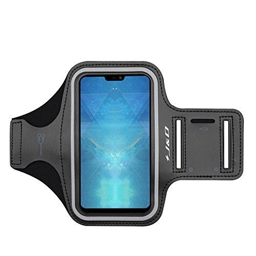 JundD Kompatibel für OnePlus 6/Oppo Reno2/Oppo Reno2 Z/Oppo Reno2 F/Realme X2/Realme X2 Pro/Realme 5 Pro/Realme 5 Armband, Sportarmband, zusätzliche Tasche für Schlüssel, Kopfhörer-Verbindung