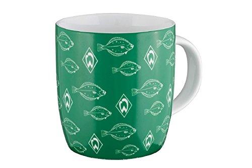 Unbekannt SV Werder Bremen Schwarm Tasse (grün/weiß)
