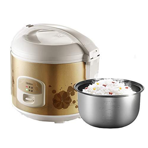 Rice Cooker 3L-500W Conservation De La Chaleur Intelligente, Non-bâton, Multi-fonctions, Avec Vapeur, Adapté For 1-3 Personnes Dans Le Ménage/Dortoir