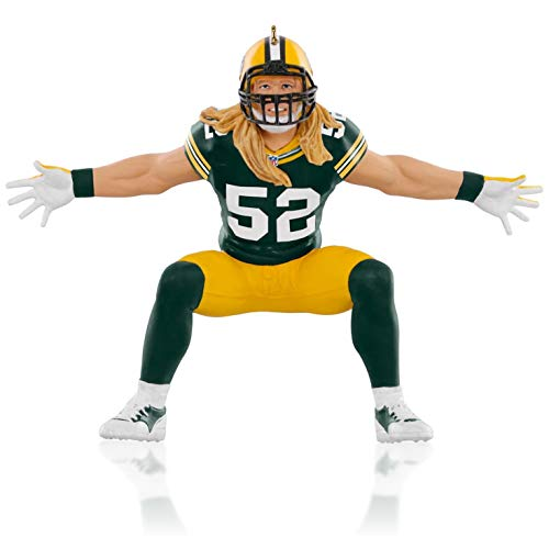 NFL Green Bay Packers Clay Matthews Ornament 2015 Hallmark