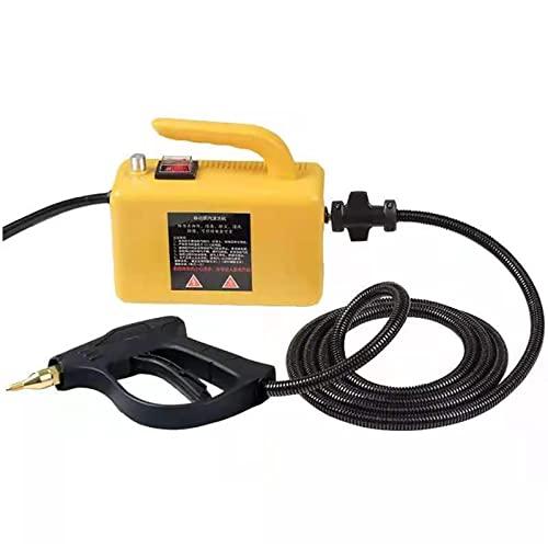 Pulitore a vapore Pulitore a vapore ad alta temperatura for cappa Air condizionatore Auto Mobile pulizia macchina Pompaggio di sterilizzazione Disinfector .per tappezzeria ( Color : Upgrade Yellow )