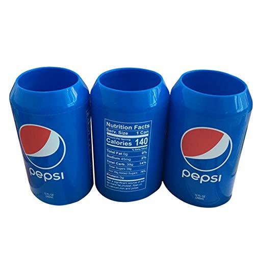 Funda de lata de refresco Lata de cerveza de silicona Lata de bebida Lata de bebida para eventos al aire libre Para juegos de fútbol Manga de lata de cerveza Ocultar una cerveza