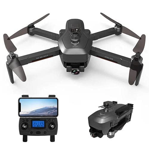 JJDSN Drone GPS con videocamera HD 4K, Gimbal a 3 Assi, Funzione di prevenzione degli Ostacoli, Video Live WiFi 5G, droni per Adulti Distanza 1,2 km Volo 26 Minuti