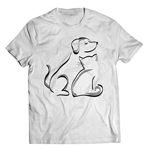 Dog and Cat Friendship, Gift for Men Women