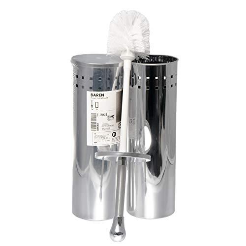 Ikea BAREN - Escobillero de acero inoxidable (2 unidades)