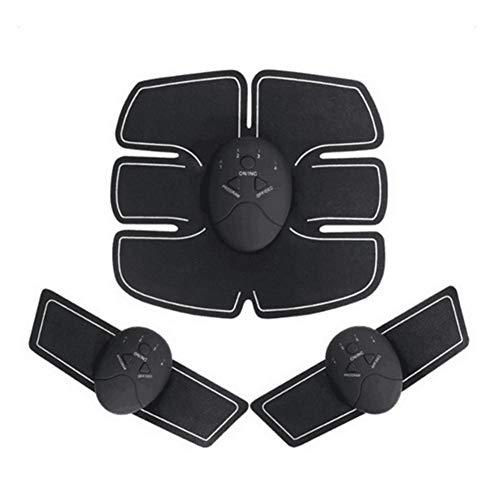 Knowled Electroestimulador Muscular Abdominales Cinturón, Masajeador Eléctrico Cinturón, Abdomen/Brazo Piernas/Cintura Entrenador Muscular
