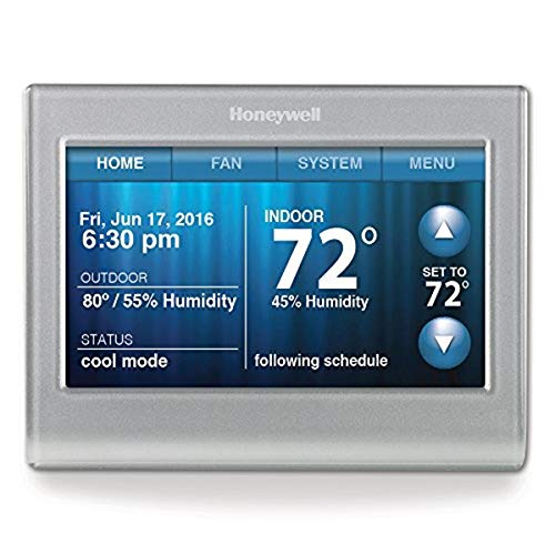 smart ac thermostats Honeywell RTH9580WF Wi-Fi Smart Thermostat