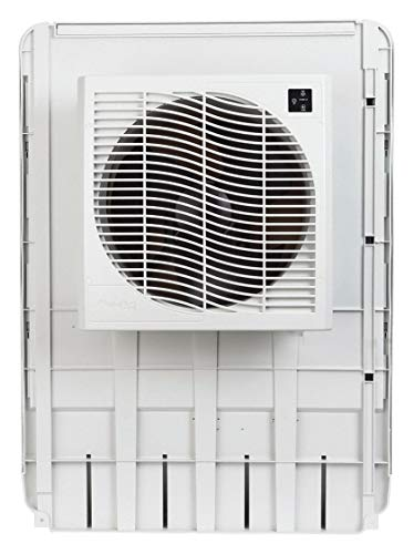 MASTERCOOL 4000 cfm Direct-Drive Window Evaporative Cooler, Covers 2000 sq. ft.