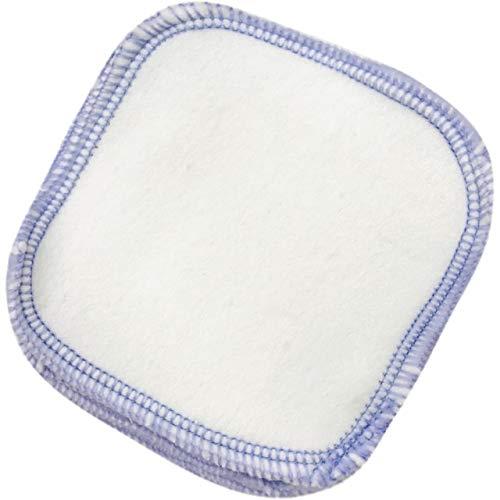 12 piezas de almohadilla removedor de maquillaje, toalla de limpieza de cara...