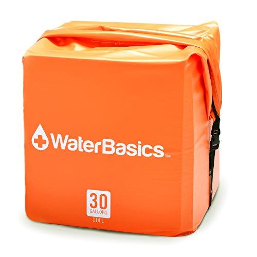 WaterBasics Emergency Water Storage Kit w/Filter (30gal, RED-II-120)