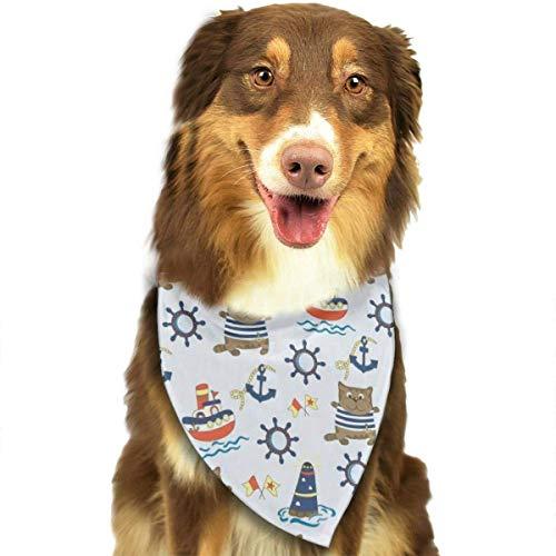 FunnyStar hond Bandana schattige zeeman kat sjaals accessoires decoratie voor huisdier katten en puppies