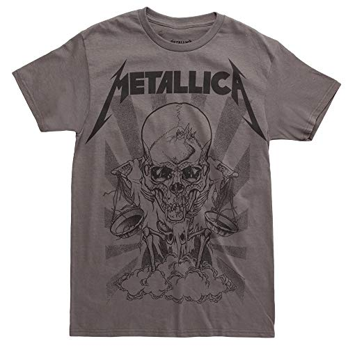 Metallica Pushead Boris T-Shirt - Charcoal (XXX-Large)