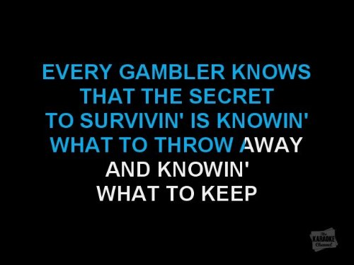 The Karaoke Channel - The Gambler