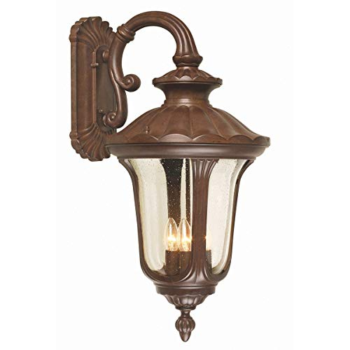 Wandlantaarn 1-lamp Chicago houder: onder