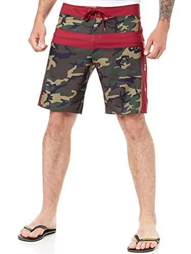 Fox Camouflage Moth Boardshort Green Camo