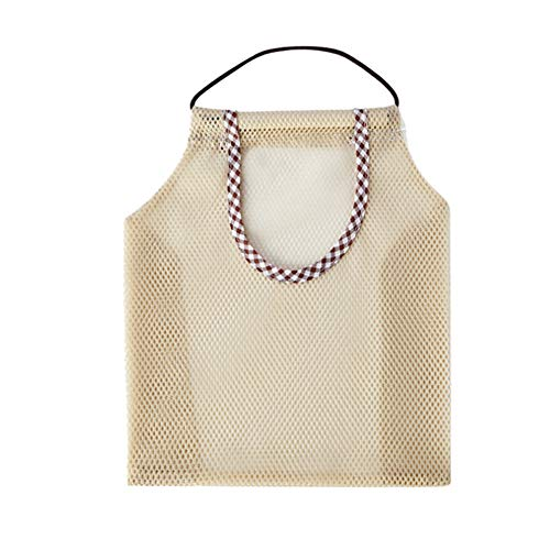 C/N Bolsa de malla reutilizable para colgar, bolsa de verduras para frutas, ajos, patatas, cebollas, bolsa de basura organizadora