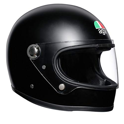 AGV 0101-10416 Unisex-Adult Full Face X3000 Motorcycle Helmet (Matte Black, Large)