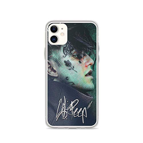 Roadiress Lil Peep EMO Fanart Young Music Compatible con iPhone 12/12Pro MAX 12 Mini 11 Pro MAX XR XS/XsMax SE 2020 7 8 6/6s Plus Huawei Samsung Series Funda Protectora