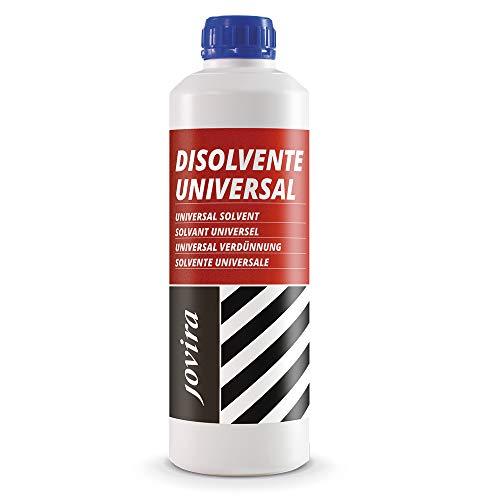 DISOLVENTE UNIVERSAL Diluyente de pintura, Esmaltes, Barnices, Antioxidantes. Limpieza de herramientas. (1 Litro)