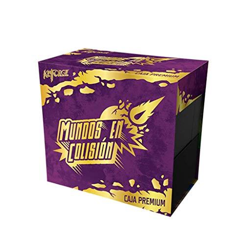 Fantasy Flight Games- Keyforge - Caja Premium: Mundos en Colisin, Color (KF08ES)