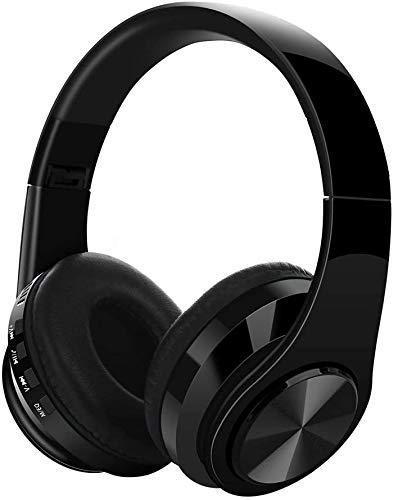 5.0 Bluetooth Headphones,KingTo Hi-Fi Sound Wireless Headset Foldable Wired/Wireless/TF Bluetooth 5.0 Wireless...