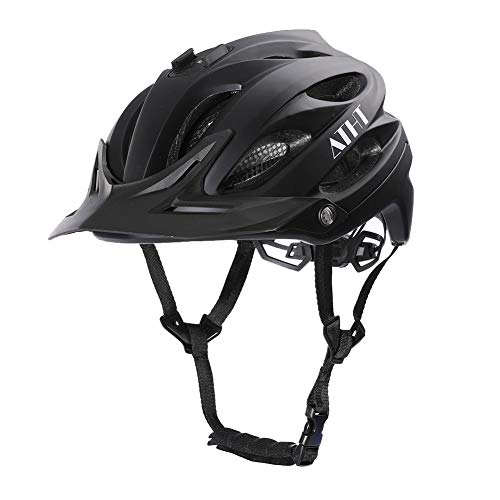 Atphfety Mountain Bike Helmet,MTB Road Bicycle Cycling Helmets with Camera Mount for Adult Men/Women
