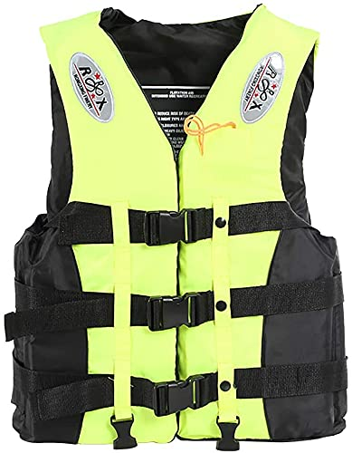 YZJL Chaquetas y Chalecos salvavidasChaquetas de natación portátiles Seguridad Adultos Chalecos de natación Ayuda de flotabilidad Ideal para bucear
