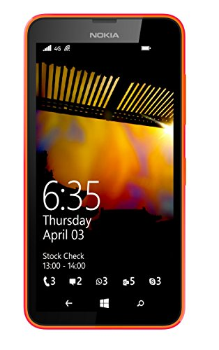 Nokia A00019483 - Lumia 635 Sim Free Windows 8.1 - Orange