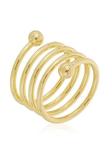 Córdoba Jewels | Anillo en goldfilled Laminado de Oro 14/20. Diseño Esferas