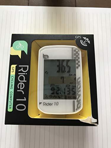 Bryton Rider 10 Ordinateur GPS, Blanc, Taille Unique